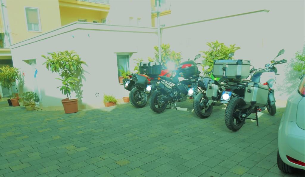 1 PARCHEGGIO MOTO